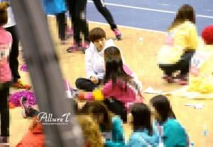 L Infinite, Suzy & Jia Miss A in Idol Sport Championship