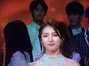 Minho SHINee & Suzy Miss A in KBS Gayo Daejun (1)